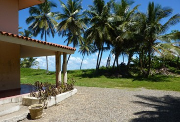 Beachfront property with 3 x 2-Story Houses in Cabarete