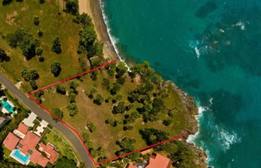 Beach lovers dream! Ocean front lot in select gated community