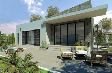 Modern Style Villa with 3 bedrooms