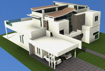 Modern Style Villa with 5 bedrooms