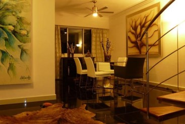 Magnificent spacious 3 bedroom two story penthouse with ocean view