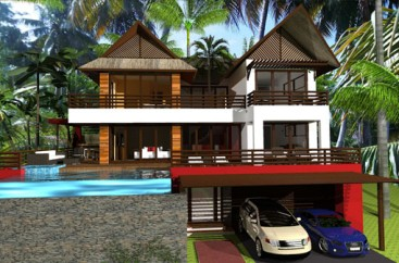 New Villa Project with breathtaking panoramic views Samana