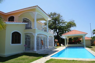 Lovely villa located in a quiet gated community Cabarete