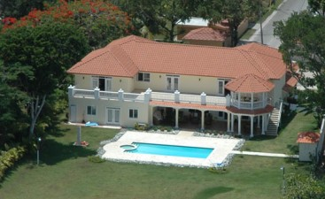 Oceanfront Mansion with luxury finishing in Sosua