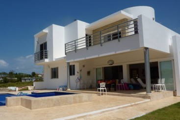 New modern villa with ocean view in Sosua