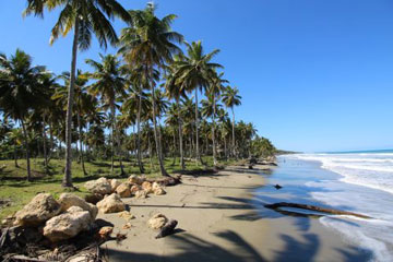Excellent beachfront lot in unspoilt location