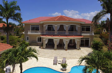 High quality villa with amazing views in Sosua