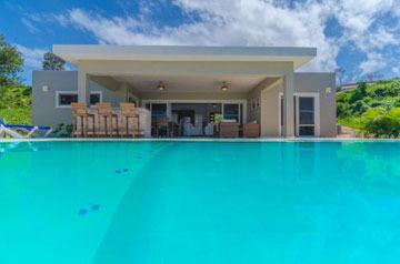 New tropical villas for sale in gated community
