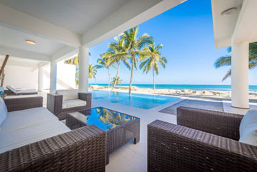 Modern Luxury Beachfront Villa for Rent