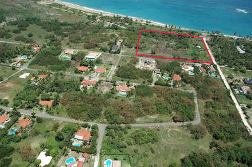 #4 Prime development land located on main highway close to Cabarete
