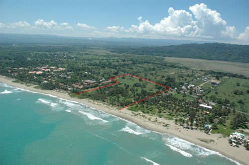 #6 Beachfront Lot in Cabarete with 150 meters beachfront