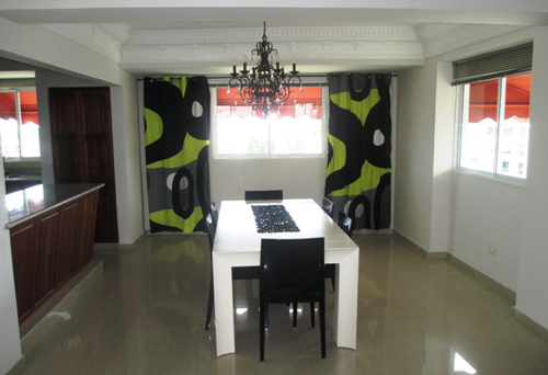 #3 Spacious 3 bedroom duplex condo in Santo Domingo Bella Vista Norte