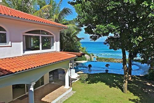 #0 Beachfront Villa with 5 bedrooms in Sosua