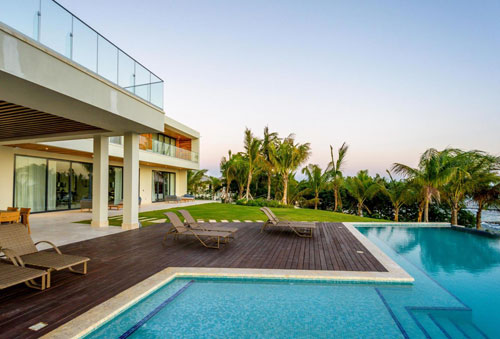 #17 Unique stunning modern waterfront mansion at Casa de Campo