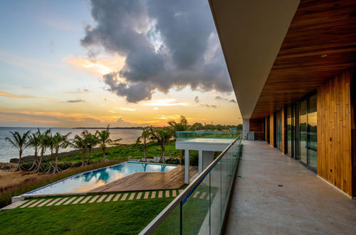 #18 Unique stunning modern waterfront mansion at Casa de Campo