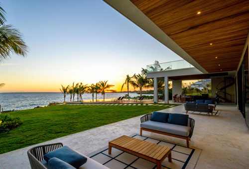 #3 Unique stunning modern waterfront mansion at Casa de Campo