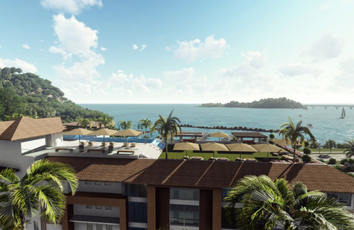 #11 New Oceanfront Condo Hotel located in Samana
