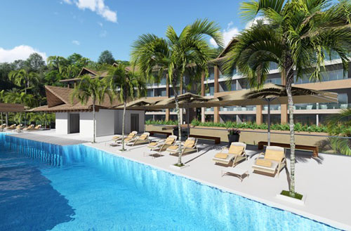 #14 New Oceanfront Condo Hotel located in Samana