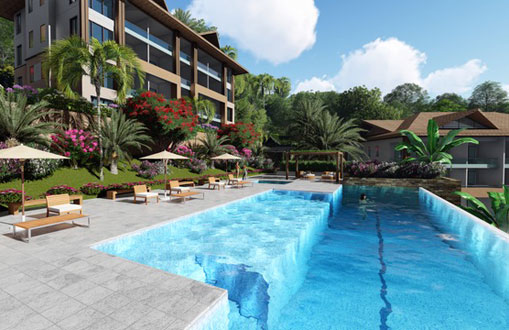 #3 New Oceanfront Condo Hotel located in Samana