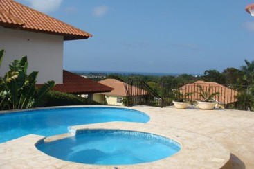 Superb residence with ocean views in Sosua