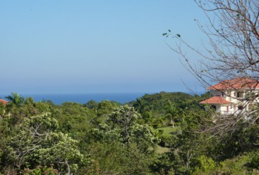 Lot with ocean view in gated community Sosua