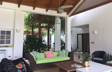 Spacious 4 bedroom villa inside Metro Club Juan Dolio