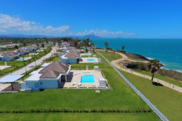 Oceanfront Villas for sale inside gated community