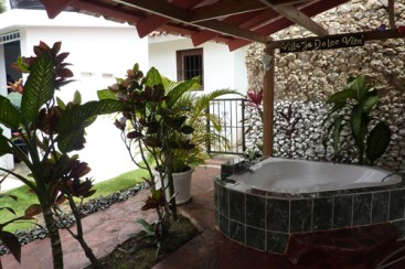 Villa in gated beachfront residential area Cabarete