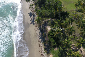Beach front lot for sale near Cabarete