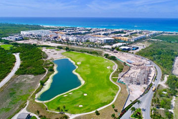 Brand new luxury condos overlooking the 9th hole of the Hard Rock Golf Course