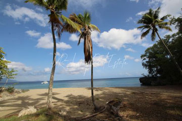 Magnificent beachfront land perfect for residential development