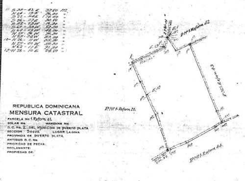 #4 Prime development land with 34,142 m2 next to Casa Linda Project
