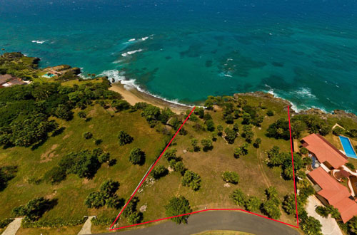 #1 Beach lovers dream! Ocean front lot in select gated community