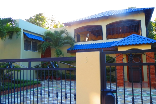 #6 Villa with three bedrooms and ocean view in Sosua