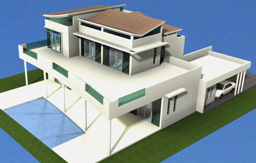 #1 Modern Style Villa with 5 bedrooms