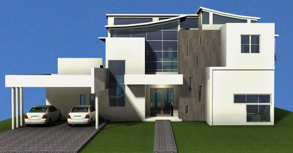 #4 Modern Style Villa with 5 bedrooms