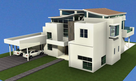 #2 Modern Style Villa with 5 bedrooms