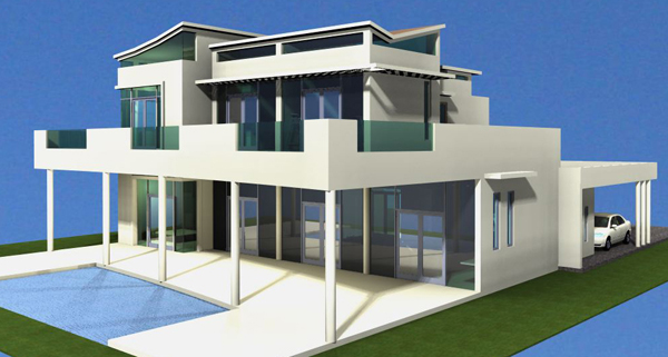 #3 Modern Style Villa with 5 bedrooms