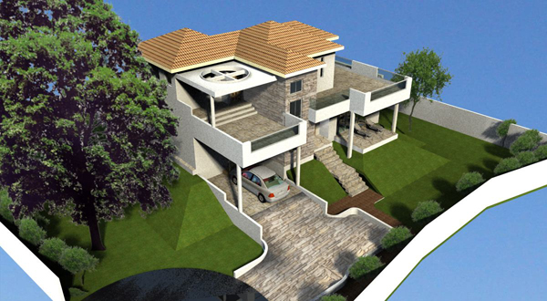 #1 Villa with 3 bedrooms and 3 bathrooms