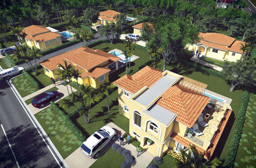 #4 New build villas with three bedrooms in Sosua