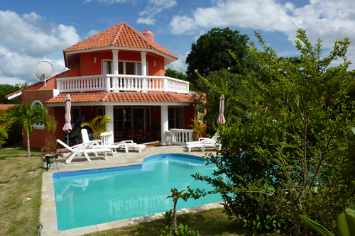 #1 Villa with 3 bedrooms and some ocean view in Sosua