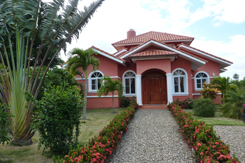 #9 Villa with 3 bedrooms and some ocean view in Sosua