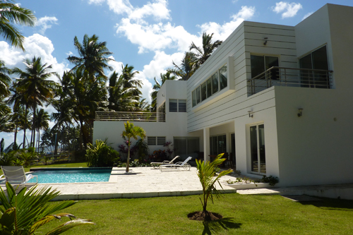 #0 Modern style beachfront Villa for sale