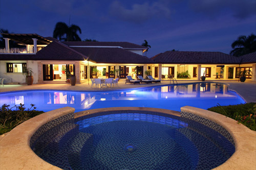 #0 Luxury mansion with magnificent tropical garden in Casa de Campo