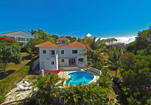 #8 Spacious villa with ocean view in gated community