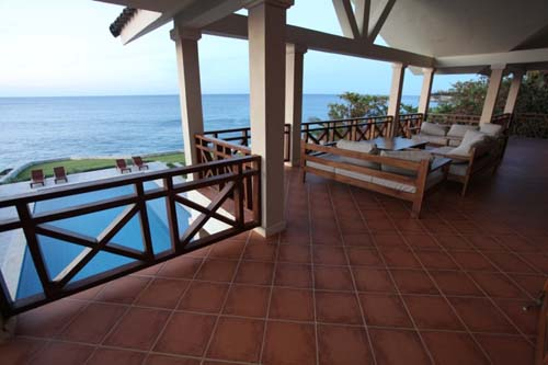 #1 Oceanfront Villa with spacious accommodation