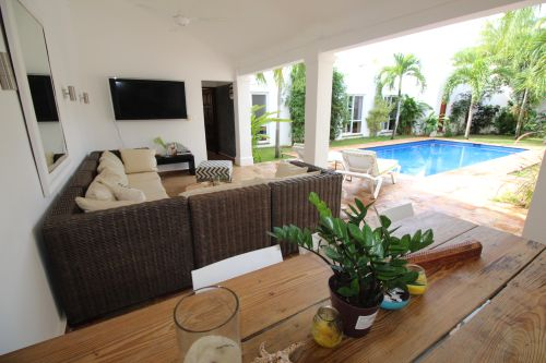 #7 Perfect tropical oasis with pool inside gated beachfront community