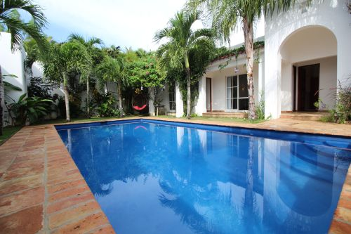 #9 Perfect tropical oasis with pool inside gated beachfront community
