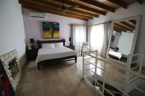 #9 Truly 3 bedroom duplex penthouse steps from Cabarete beach