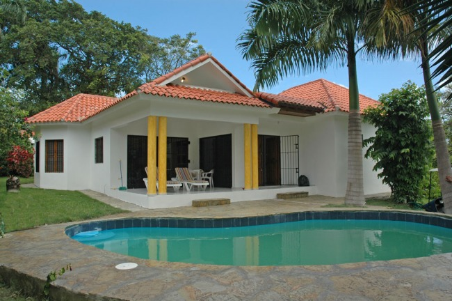 #3 Villa in gated beachfront residential area Cabarete